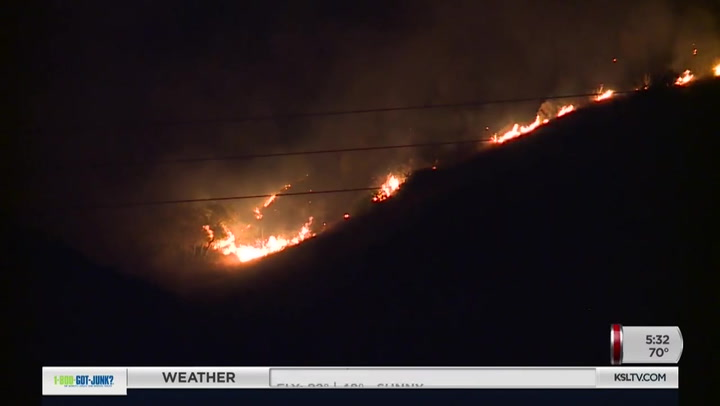 New Fire Sparks Near Springville, Burns Dangerously Close To Homes