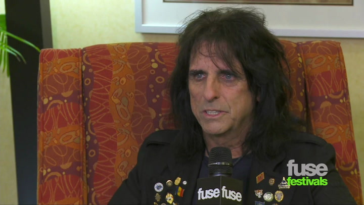 Festivals: Bonnaroo: Alice Cooper Interview