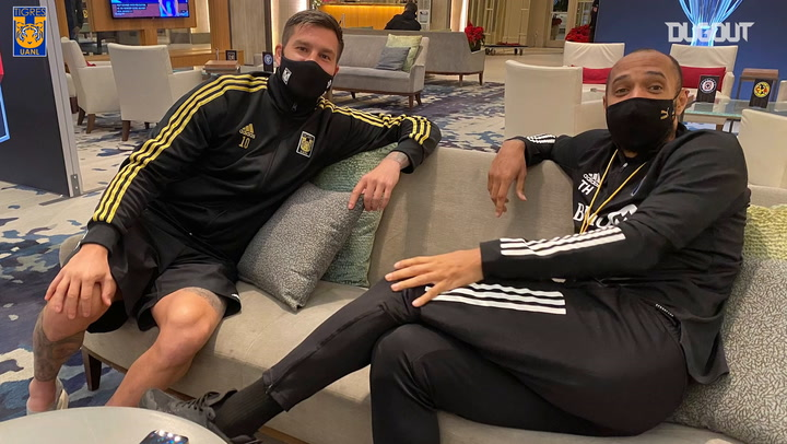 Tigres train in Orlando and Gignac meets Henry