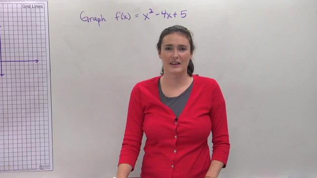Graphing Quadratic Equations - Problem 3