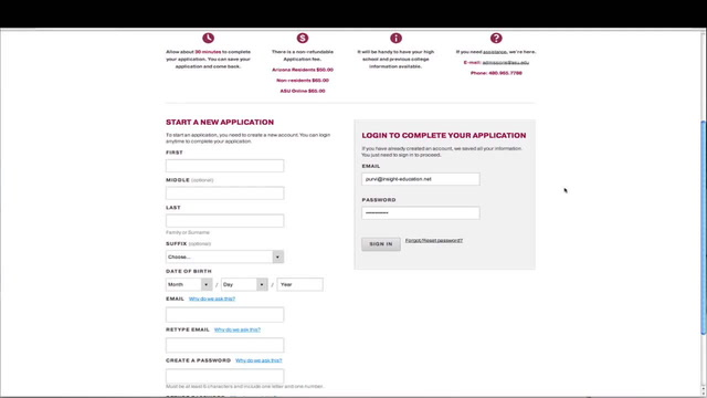 How to Complete the Arizona State Application