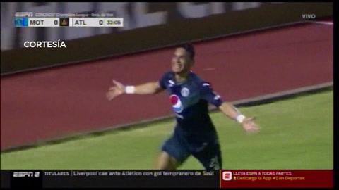 El golazo de Roberto Moreira que abrió el marcador en el Motagua - Atlanta United