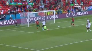 Así fue el gol que anotó Cristiano Ronaldo a la selección de Alemania