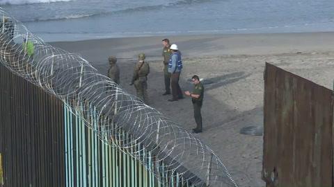 Migrantes llegan a norte de México, dispuestos a cruzar a EEUU
