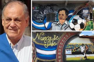 La historia detrás del mural en Ajuterique donde Chelato Uclés ha sido inmortalizado