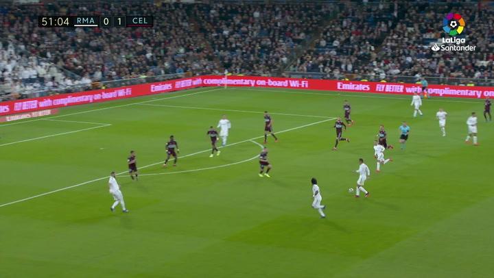 Gol de Kroos (1-1) en el Real Madrid 2-2 Celta