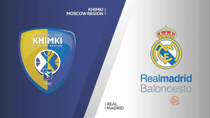 Euroliga: Khimki Moscow Region - Real Madrid