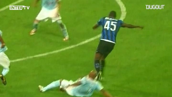 Debut Goals: Samuel Eto'o Vs Lazio