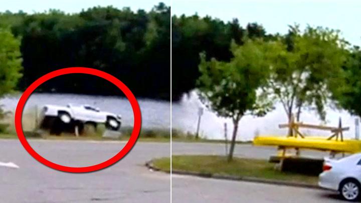 Dramatisk: Sjåføren får illebefinnende bak rattet