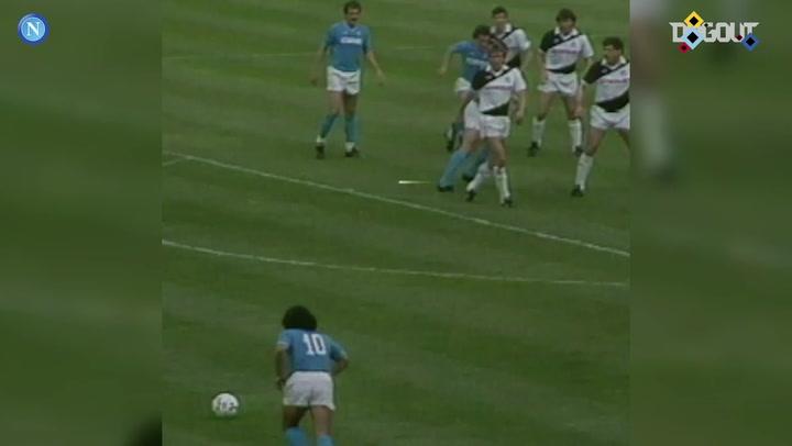 Diego Maradona's best Napoli goals