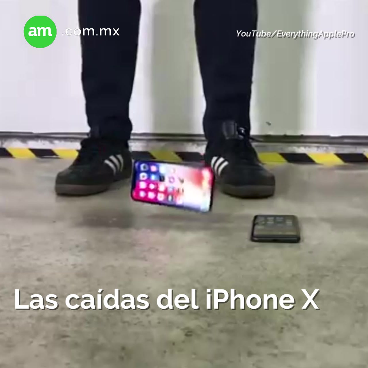 Las caídas del iPhone X
