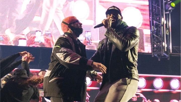 LeBron James y Bad Bunny comparten escenario en Los Angeles