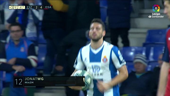 Gol de Calleri (2-4) en el Espanyol 2-4 Osasuna