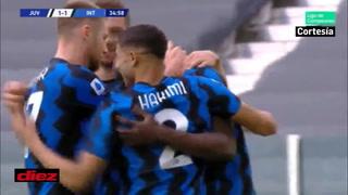 Lukaku está enviando a Juventus y Cristiano Ronaldo a la Europa League, marcó de penal el empate