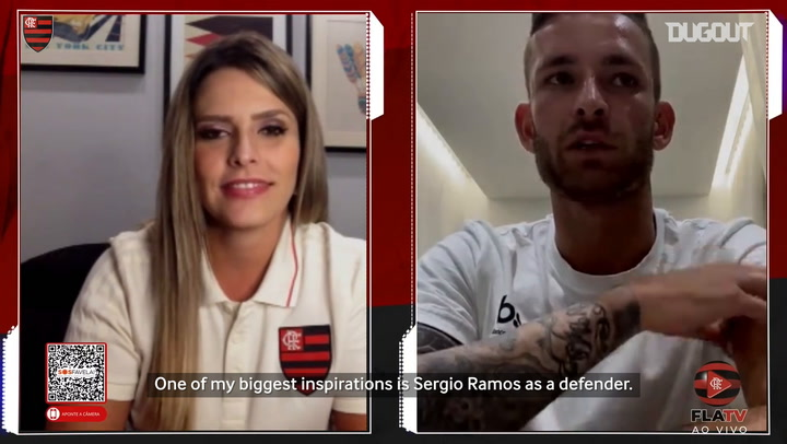 Léo Pereira says Sergio Ramos is his biggest inspiration as a player