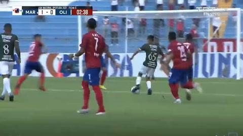 Marathón 1-0 Olimpia (Liga Nacional)