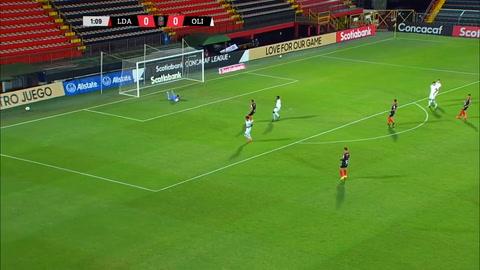 Olimpia, eliminado de la Liga Concacaf por Alajuelense en penales