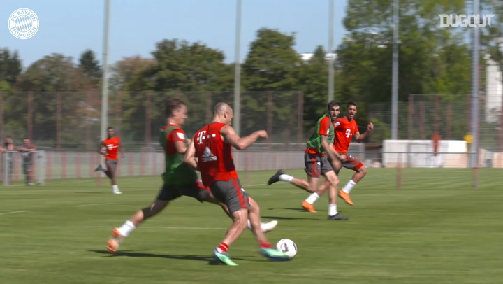 FC Bayern's Training Goals Of The Year #5