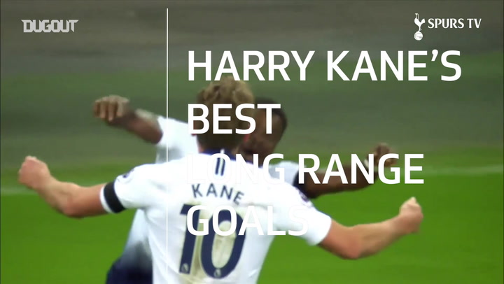 Harry Kane's Best Long Range Goals