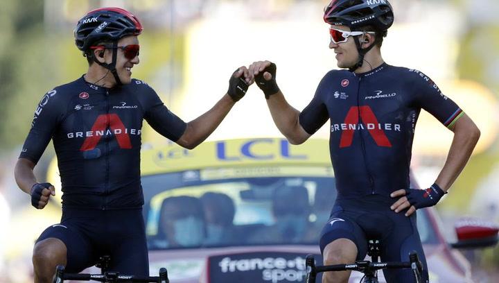 Brillante victoria de Kwiatkowski, Roglic acaricia el amarillo y Landa remonta en la 18ª etapa del Tour