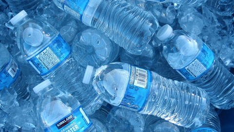 Bottled Water  Contaminated with Plastic