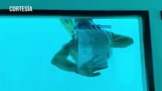 Joven muere ahogado al proponerle matrimonio a su novia bajo el agua