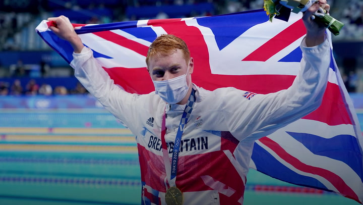 Tom Dean says winning Olympic gold was 'proudest day of my life'