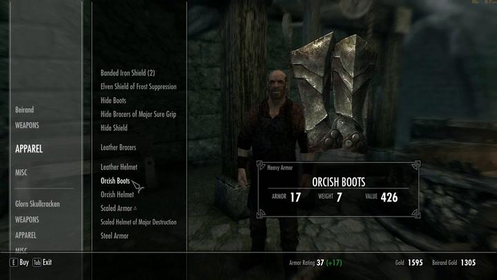 reinforced ebony armor skyrim