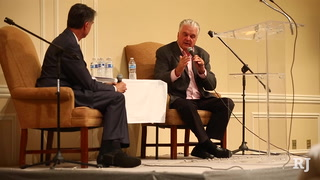 Steve Sisolak speaks at candidate forum