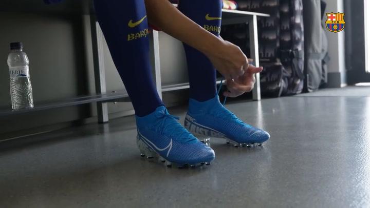 Asi se hicieron las fotos oficiales del Barça femenino