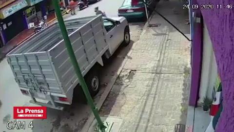 Niña muere aplastada por un camión en México