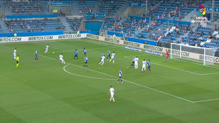 Gol  Real Madrid - RC Celta J4 GOLES VINICIUS