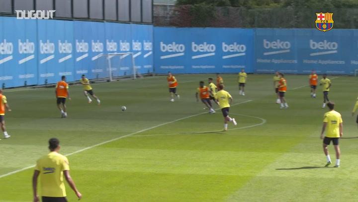 Barcelona Villarreal Maçının Hazırlıklarını Tamamladı