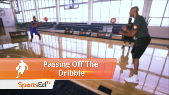 Passing Off The Dribble