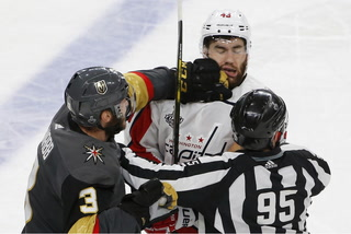 Golden Knights react to Tom Wilson's hit on Jonathan Marchessault