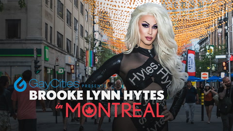 Brooke Lynn Hytes in Montreal