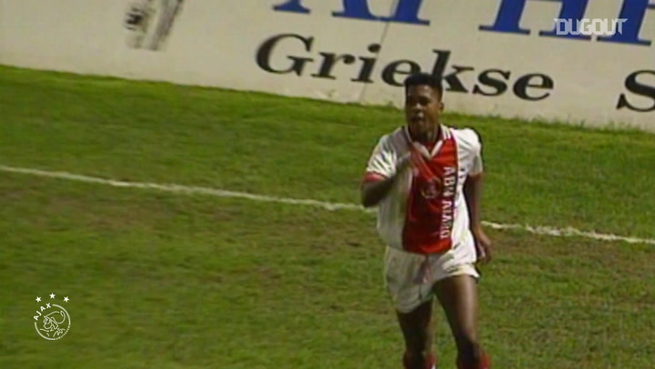 Patrick Kluivert's best goals for Ajax