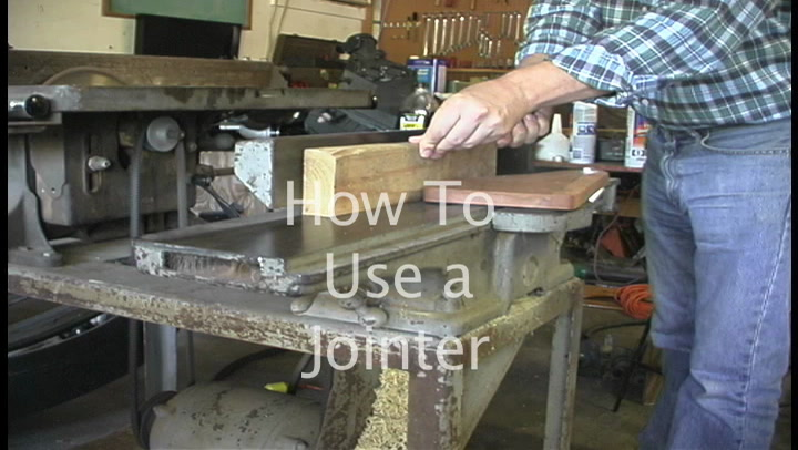 The American Garage Minute- How to use a Jointer