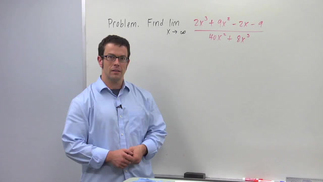 Limits of Rational Functions - Problem 3