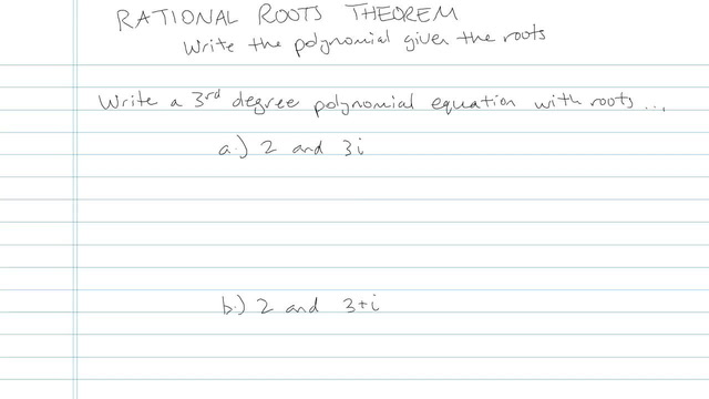 Rational Roots Theorem - Problem 2