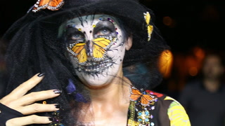 Celebrating Florida Day of the Dead 2015 in Fort Lauderdale
