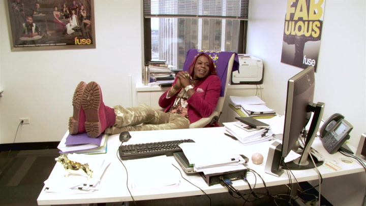 Big Freedia Takes Over The Fuse Offices In New York City (Part 2)