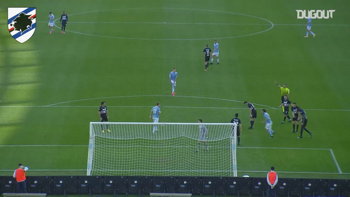 Audero denies Luis Alberto with an amazing save