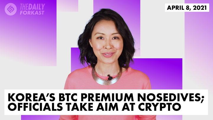Korea's BTC Premium Nosedives; Officials Take Aim at Crypto