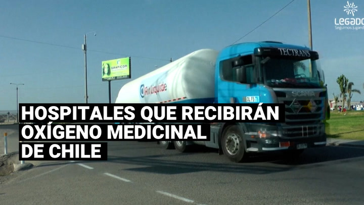 ¿Qué hospitales tendrán acceso al oxígeno medicinal importado de Chile?
