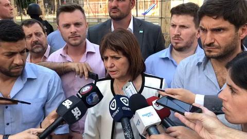 Bullrich manifestó que trabajan para desarmar la figura del sicariato en Rosario