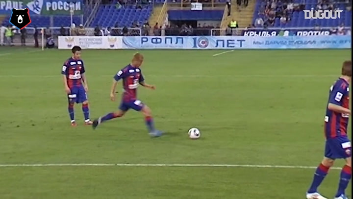 Keisuke Honda's Best Free-Kicks in the RPL