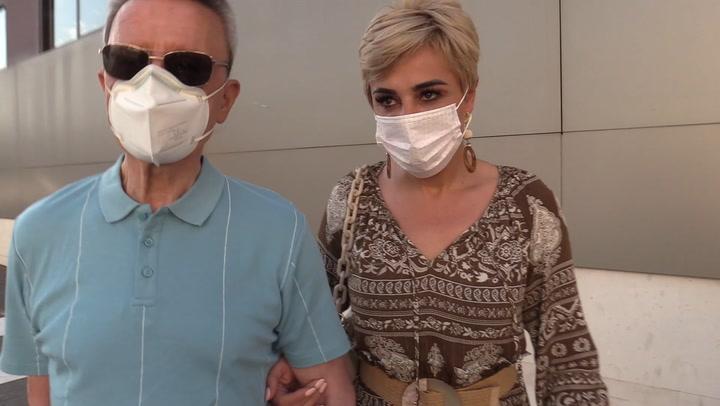 José Ortega Cano ingresa en el hospital para someterse a un cateterismo