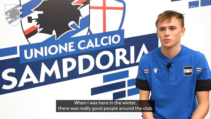 Damsgaard had no doubts over Sampdoria transfer