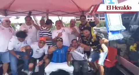 Ambiente en Houston previo al partido Honduras vs Panamá